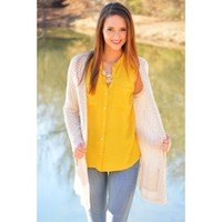 Cream of the Crop Cardigan