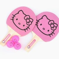Hello Kitty Ping Pong Set: Pink