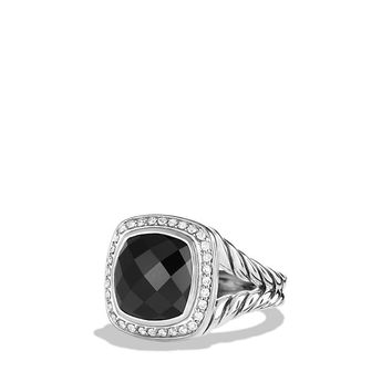 Albion Ring with Diamonds, 11mm