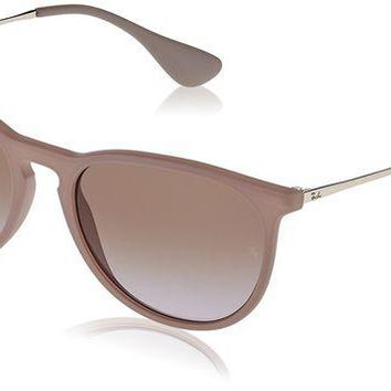 NOVO5 Unisex-Adult Erika Aviator Sunglasses, DARK RUBBER SAND, 54 mm
