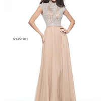 Sherri Hill 51083 Choker Neckline Formal Prom Dress