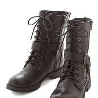 ModCloth Military Is This Reel Life? Boot