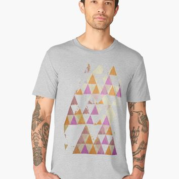 'Pyramides' Men's Premium T-Shirt by mirimo