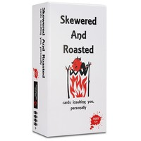Skewered and Roasted Card Game / Adult Party Game