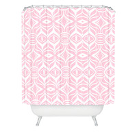 Lisa Argyropoulos Pastel Retro Shower Curtain