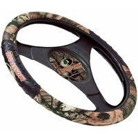 Mossy Oak Infinity Camo Rubber Steering Wheel Cover