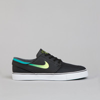 Flatspot - Nike SB Stefan Janoski L Black / Venom Green - Turbo Green - White