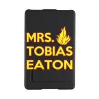 Mrs. Tobias Eaton Dauntless Kindle Kickstand Case on CafePress.com