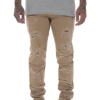 The Andre Denim in Khaki