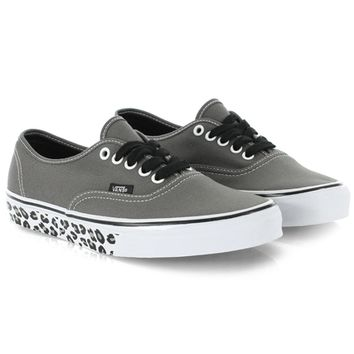 Baskets Vans Authentic Leopard Sidewall Pewter - LaBoutiqueOfficielle.com