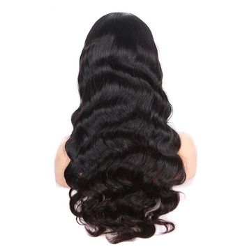 Body Wave Virgin Brazilian Full Lace Human Hair Wigs