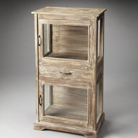 Artifacts Hardin Rustic Display Cabinet