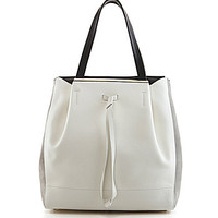 Furla Twist Medium Drawstring Tote - Petalo/Onyx