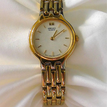 Vintage Gold Seiko Ladies Watch