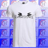 Evanescence eye, Evanescence shirt, Evanescence tshirt, music clothing, Unisex Tshirt Adult (S,M,L,XL,XXL,XXXL)