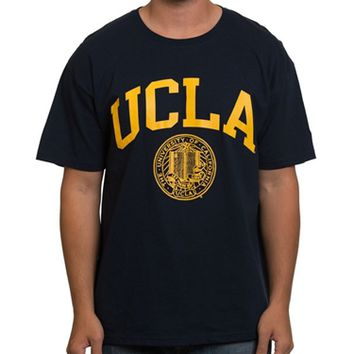 UCLA Store - *UCLA Arch and Seal T-Shirt - Navy