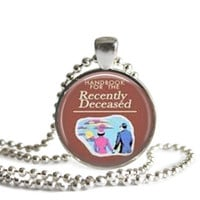 Beetlejuice Necklace Handbook for the Recently Deceased