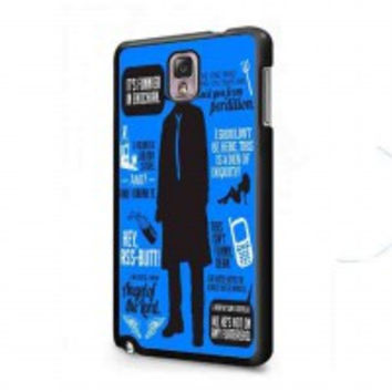 Cas Quotes Supernatural for samsung galaxy note 3 case