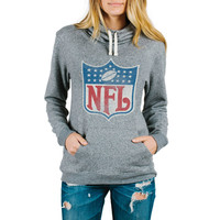 Women's NFL Junk Food Steel Sunday Pullover Hoodie