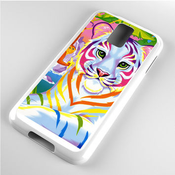 Lisa Frank Neon Tiger and Monkey 90's Samsung Galaxy S5 Case