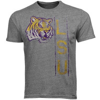 LSU Tigers Tracker Overtime Tri-Blend T-Shirt - Ash