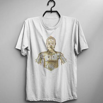 Women Star Wars C-3PO T-Shirt