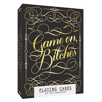 Game On, Bitches Deluxe Playing Cards