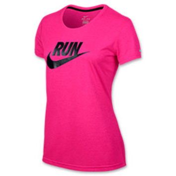 Women's Nike Legend C-NK Run Swoosh T-Shirt