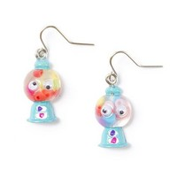 Blue Gumball Machine Drop Earrings with Googly Eyes – Claire's