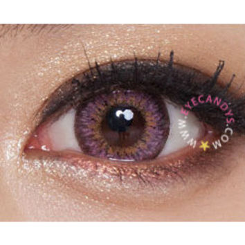 Royal Vision Macaron (Puffy 3 Tones) Pink Fashion Contact Circle Lens