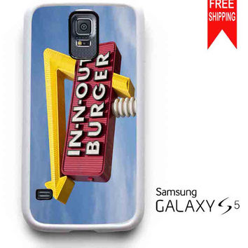 in n out burger, funny Samsung Galaxy S5 Case