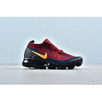 Nike Air VaporMax Navy Black Red Toddler Kid Running Shoes Child Sneakers - Best Deal Online