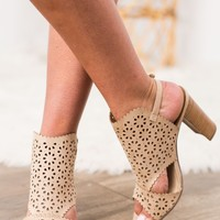 Not Rated Anisha Heel- Light Taupe