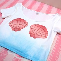 Seashell Crop top