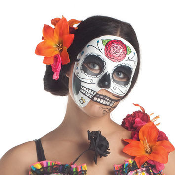 Day Of The Dead 3-4 Mask