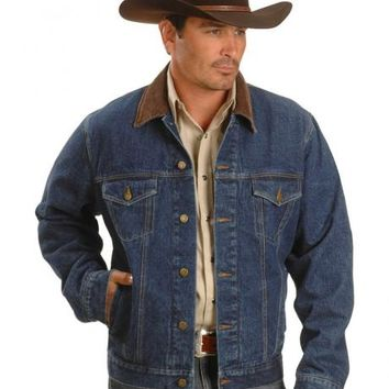Exclusive Gibson Trading Co. Blanket Lined Denim Jacket - Sheplers