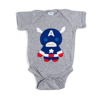 Captain Americano Onesuit | BRIKA - A Well-Crafted Life