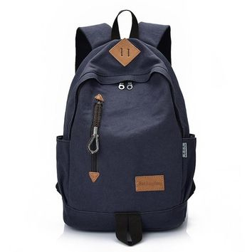 University College Backpack Manjinghong Famous Brand Man&Woman Canvas  Black Gray  Student Bag School Big Capacity  Bag 1384AT_63_4