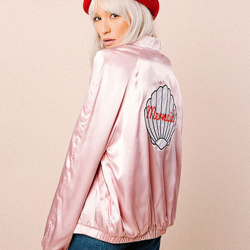 Mermaid Bomber Jacket