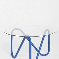Assembly Home Paperclip Table- Blue One
