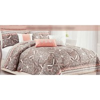 Tribal Print 7-Piece Queen Bedding Set 611198053