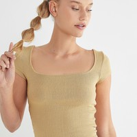 Project Social T Cap Sleeve Top   Urban Outfitters