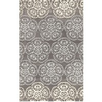 Fiona Medallion Grey Rug