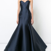 Monique Lhuillier Sweetheart Mermaid Gown - Farfetch