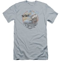 Labyrinth - Tea Premium Canvas Adult Slim Fit 30/1 Shirt Officially Licensed T-Shirt