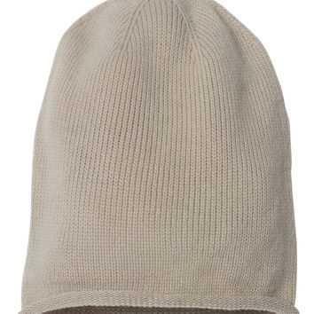 """Fifty5 Clothing Super Soft Rolled Edge Slouch Beanie 12"""""""