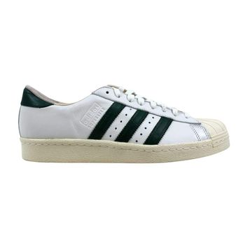 Adidas Superstar 80s Recon Crystal White/Green-Off White B41719