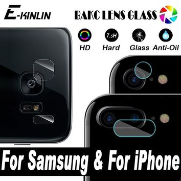 Camera Lens Protective Protector Cover Tempered Glass Film For iPhone X 8 7 6 6S Plus 10 Samsung Galaxy Note 8 5 S8 S7 S6 Edge