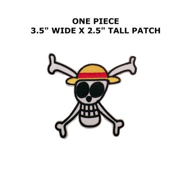 One Piece Skull Iron/Sew On Embroidered Patch By Superheroes