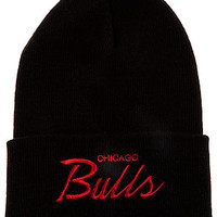 The Mitchell & Ness Chicago Bulls Beanie